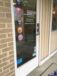 A picture of the door of Chapel Hill Eyecare